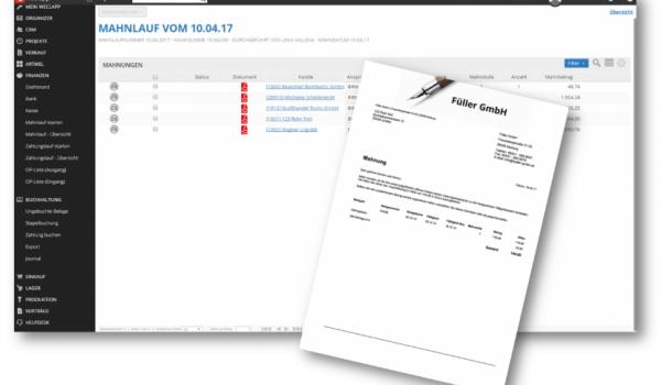 Weclapp Rechnungserstellung