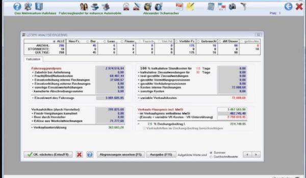 Übersicht Loco Software