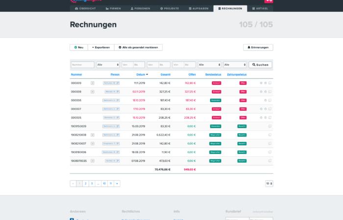 BillingEngine invoices